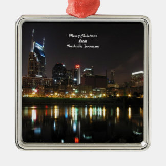 Merry Christmas from Nashville, Tennessee Christmas Ornament