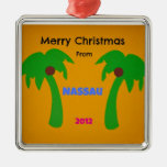 Merry Christmas from Nassau 2012 Christmas Ornaments