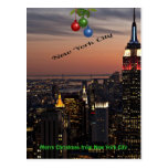 Merry Christmas from New York City Post Card