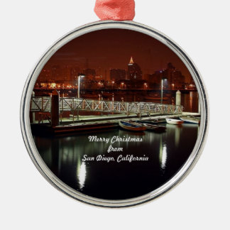 Merry Christmas from San Diego, California Christmas Ornament