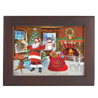 Merry Christmas from Santa Keepsake Box