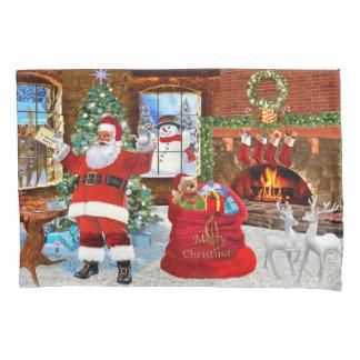 Merry Christmas from Santa Pillowcase