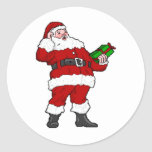 Merry Christmas from Santa Sticker