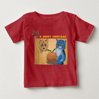 Merry Christmas from the Cats #holidayz Baby T-Shirt