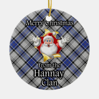 Merry Christmas From the Hannay Clan Christmas Ornament
