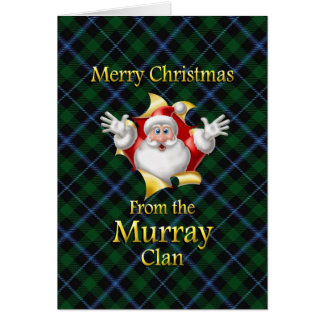 Merry Christmas From the Murray Clan Card