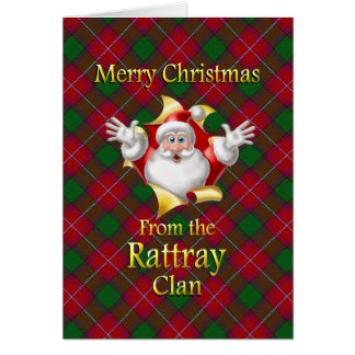 Merry Christmas From the Rattray Clan Greeting Card