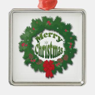Merry Christmas Garland Christmas Ornament