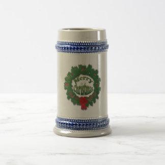 Merry Christmas Garland Coffee Mug