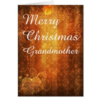 Merry Christmas Garnadmother Greeting Card
