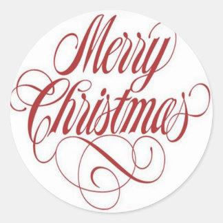 Merry Christmas!  Gift Tag Custom