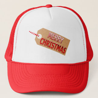 Merry Christmas Gift Tag Hat