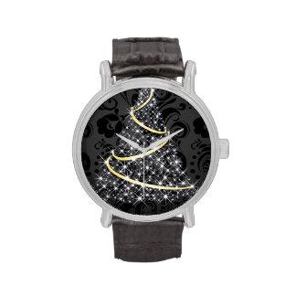 Merry Christmas Glowing Tree Wrist Watch