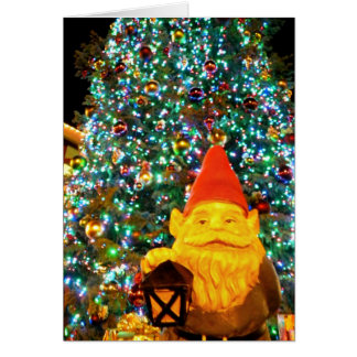 Merry Christmas Gnome Card