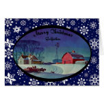 Merry Christmas Godfather Greeting Card