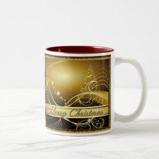 Merry Christmas gold Mug