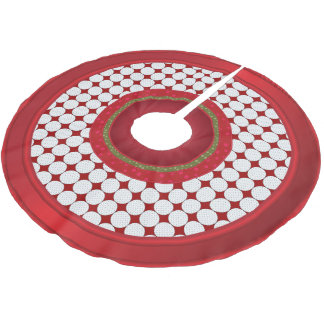 Merry Christmas  Golf Lovers Brushed Polyester Tree Skirt