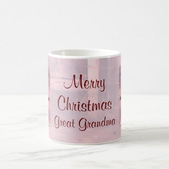 Merry Christmas Great Grandma Mug