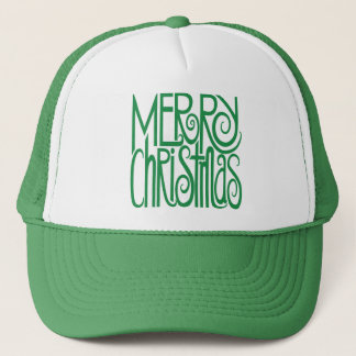 Merry Christmas green Hat