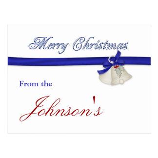 Merry Christmas Greeting Card Postcard