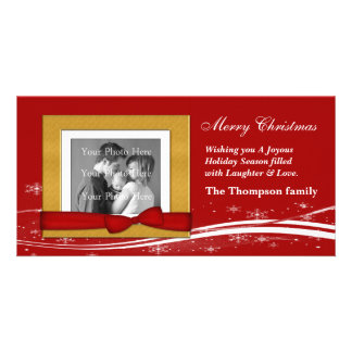 Merry Christmas Greeting Picture Card