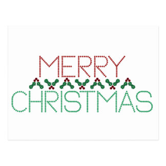 Merry Christmas Greetings Post Cards