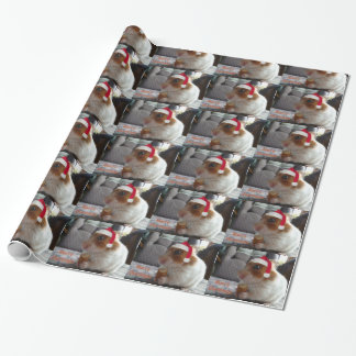 Merry Christmas Hamster Wrapping Paper