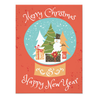 Merry Christmas Happy New Year Art Photo