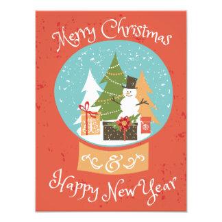 Merry Christmas Happy New Year Art Photo