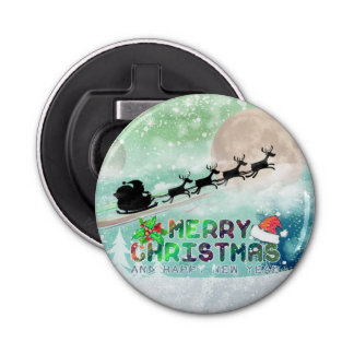 Merry Christmas & Happy New Year | Bottle Opener