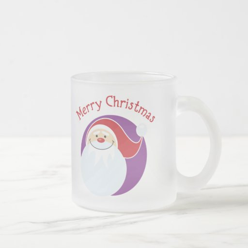 Merry Christmas Happy Santa Mugs