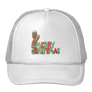 merry.christmas trucker hat