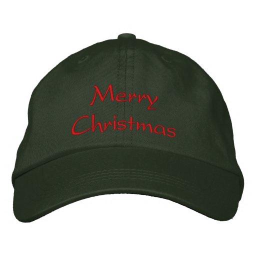 Merry Christmas Hat Baseball Cap