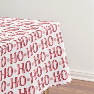 Merry Christmas Ho Ho Ho Santa is Here Tablecloth