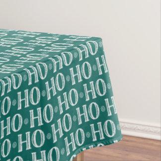 Merry Christmas Ho Ho Ho Tablecloth