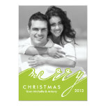 Merry Christmas Holiday Cards Invite
