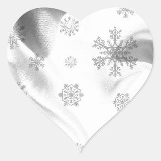 Merry Christmas  Holiday celebrations Heart Sticker