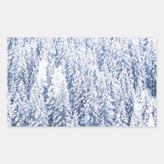 Merry Christmas  Holiday celebrations Santa Clause Rectangular Sticker