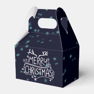 Merry Christmas Holiday Gift Box