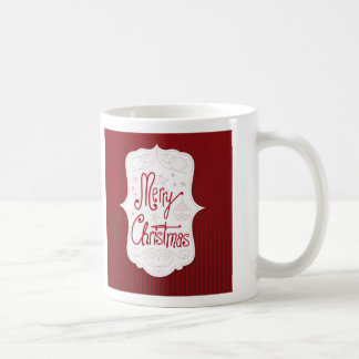 Merry Christmas Holiday Greeting Coffee Mug