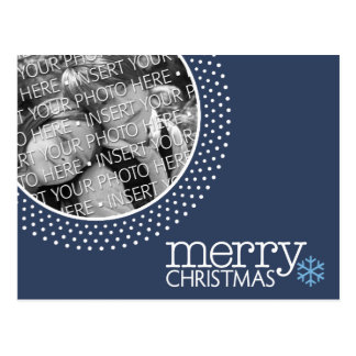 Merry Christmas - Holiday Photo Postcards