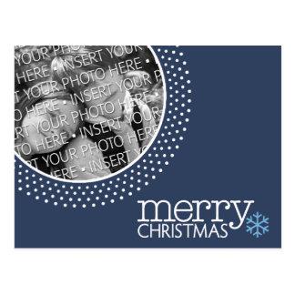 Merry Christmas - Holiday Photo Postcards