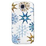 Merry Christmas  Holiday Tree Ornaments celebratio Samsung Galaxy S4 Cover