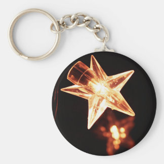 Merry Christmas  Holiday Tree Ornaments celebratio Basic Round Button Key Ring