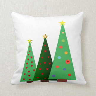 Merry Christmas holiday, trees designs Cushion