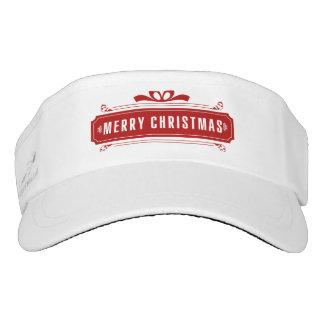Merry Christmas Holiday Visor