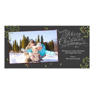 Merry Christmas Holly Card