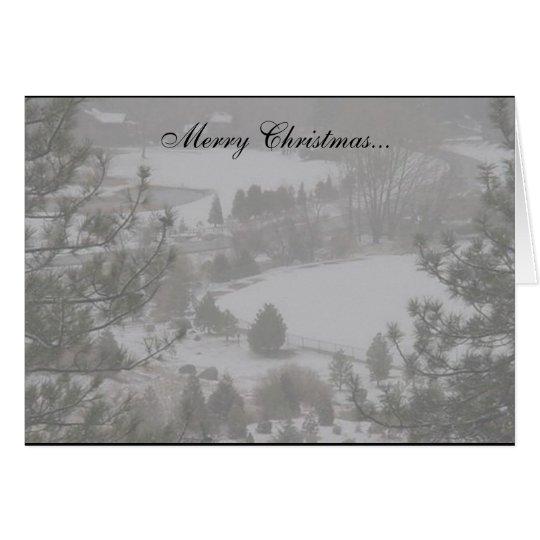 Merry Christmas... II card