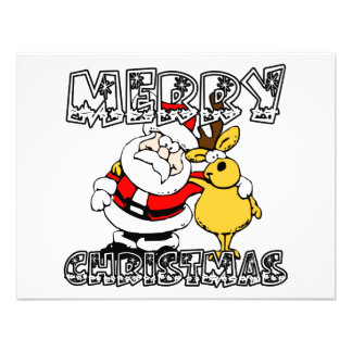 Merry Christmas Personalized Announcements