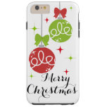 Merry Christmas iPhone 6 Case Tough iPhone 6 Plus Case